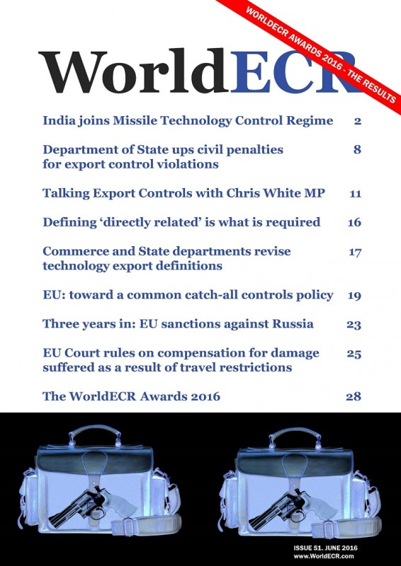 800 WorldECR issue 51 COVER
