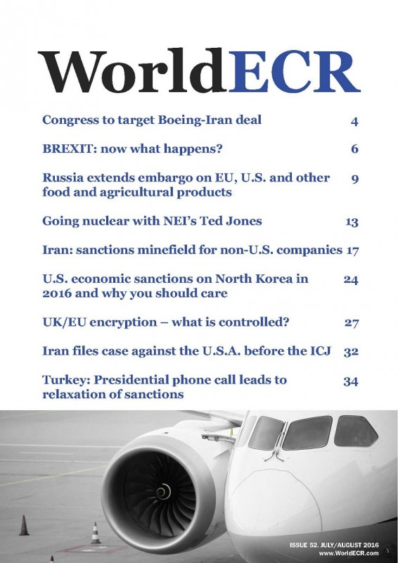 COVER WorldECR issue 52