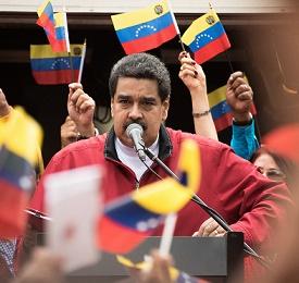 Blocking of the entire government of Venezuela