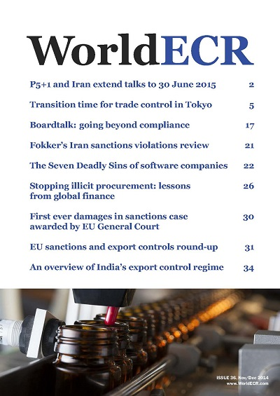 WorldECR issue 36 cover400