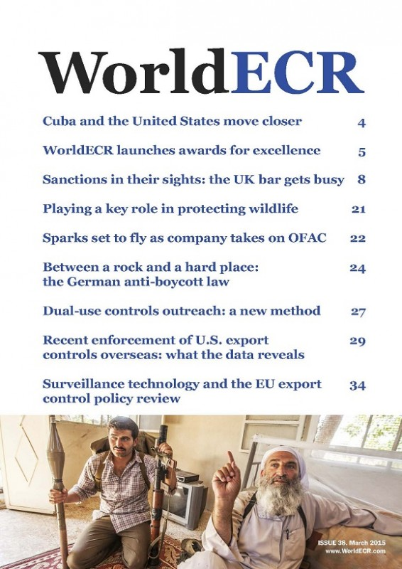 WorldECR issue 38 cover 580