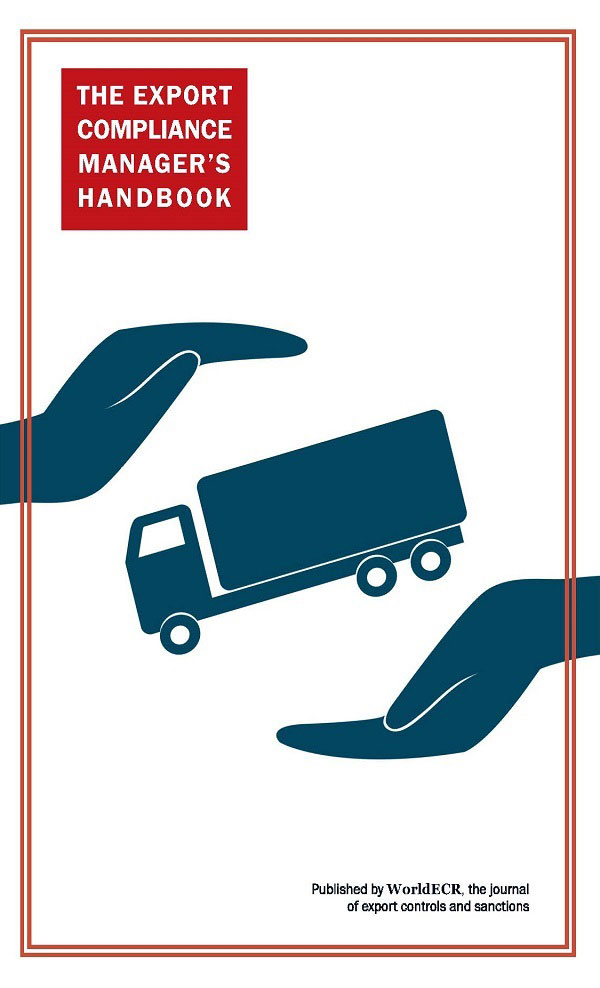 The Export Compliance Manager's Handbook