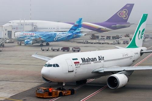 Germany blocks Mahan Air