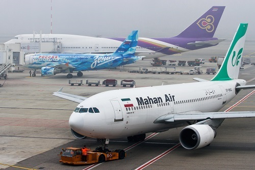 Germany blocks Mahan Air