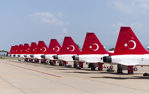 UK government announces new OGEL for Turkish jet fighter programme